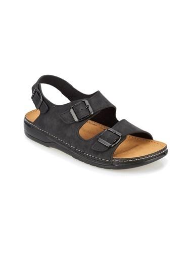 Kinetix Sandalet Siyah